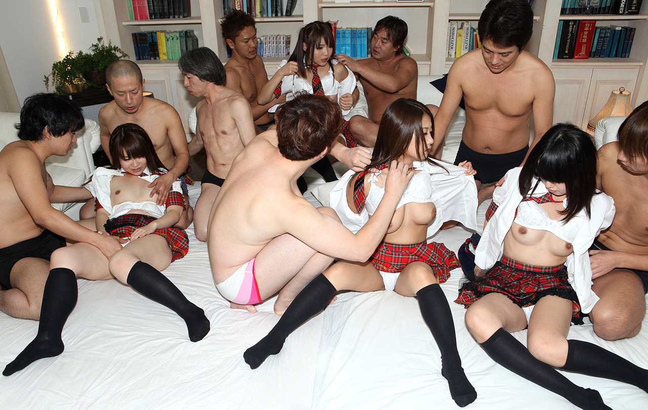 Jap sex party